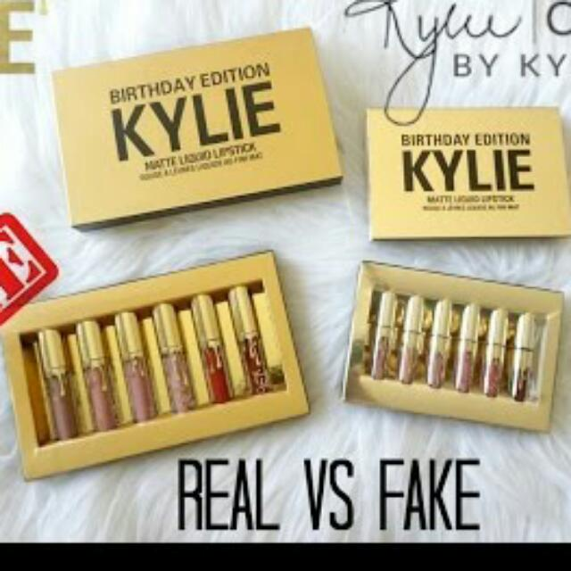 Be Smart Buyer Kylie Lip Kit Ori Usa -Ori Singapore -Ori Singapore 'KW'