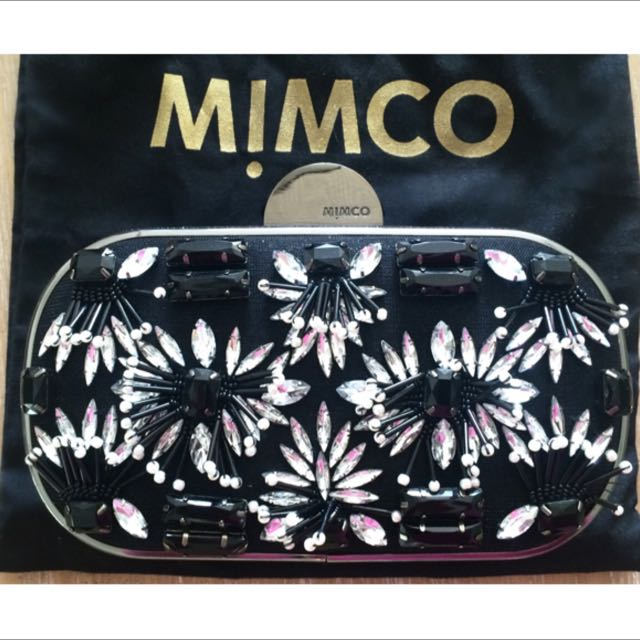 Beaded Mimco Clutch Brand New