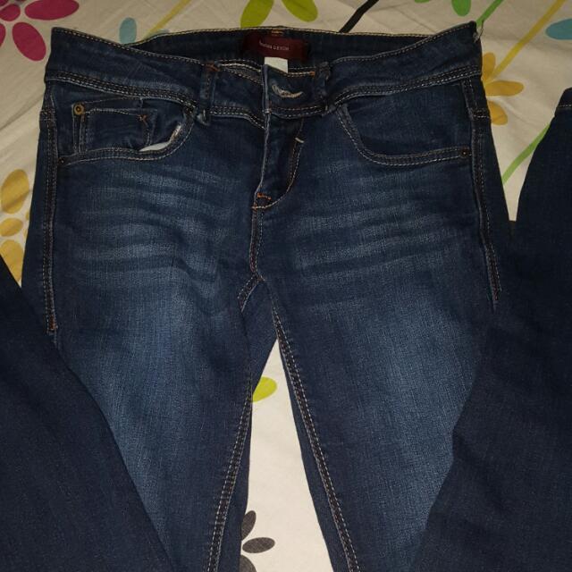 Bershka Denim Size 26 Skinny