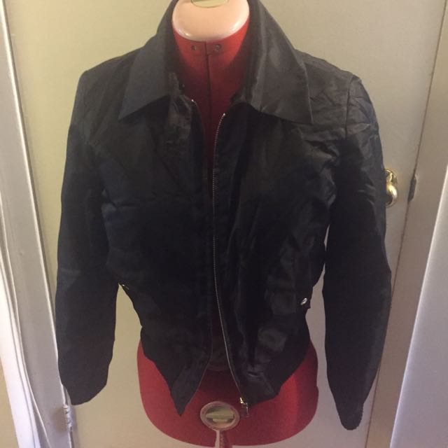 *reduced* Black Bomber Jacket