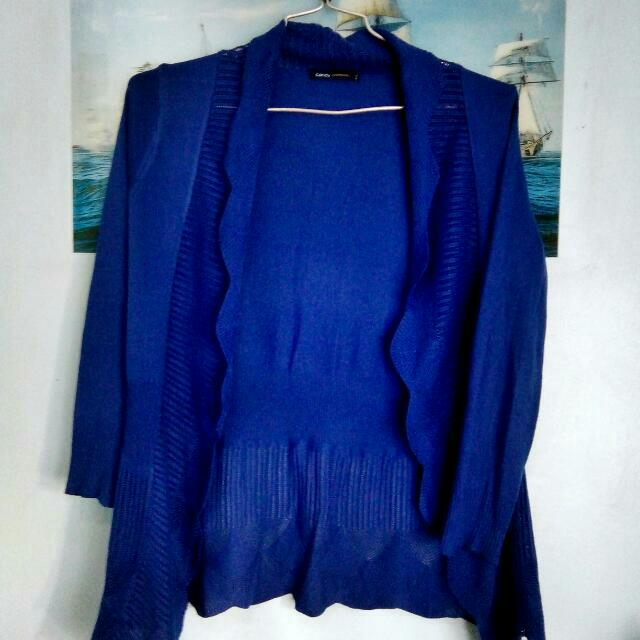 Blue Cardigan (Candy Conteporary)