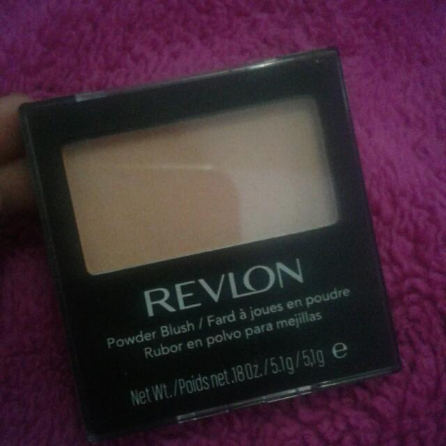 Blush on Revlon