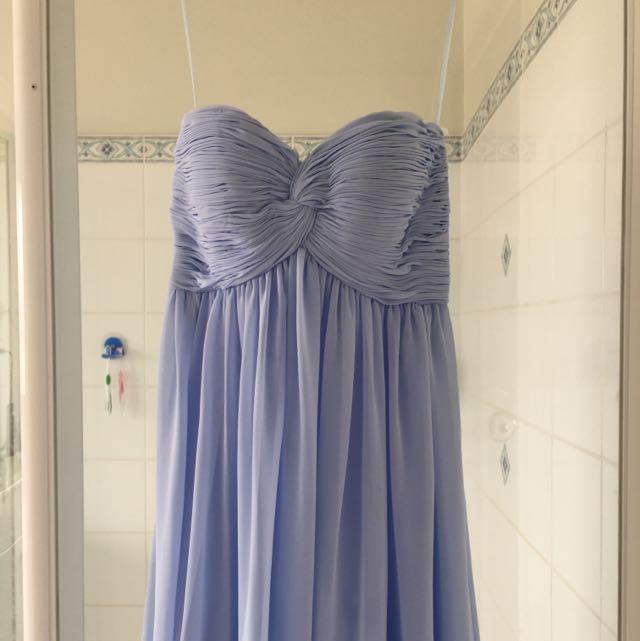 BNWT Sheike Baby Blue Maxi Dress