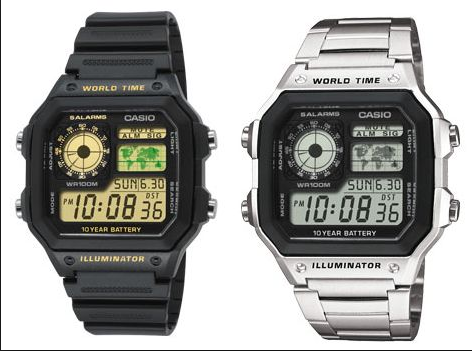 Brand new Casio AE1200 Rubber Watch, Men's Fashion ...