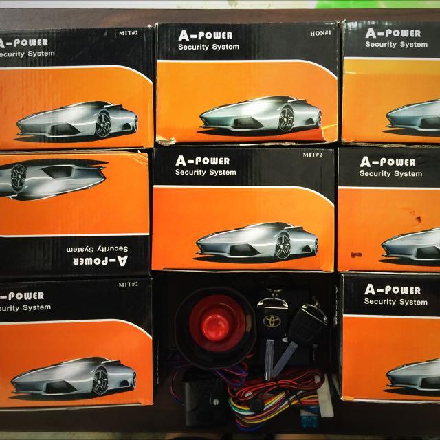 CAR ALARM SYSTEM (OE- Design )