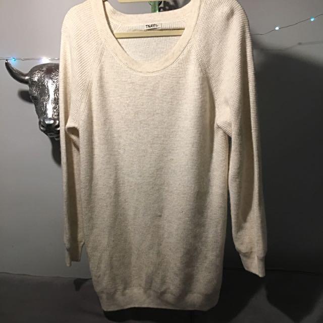 Cashmere Sweater Dress - TNA