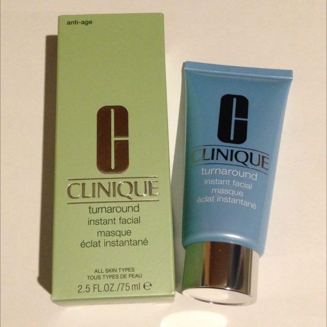 Clinique Turnaround Instant Facial Masque 75ml
