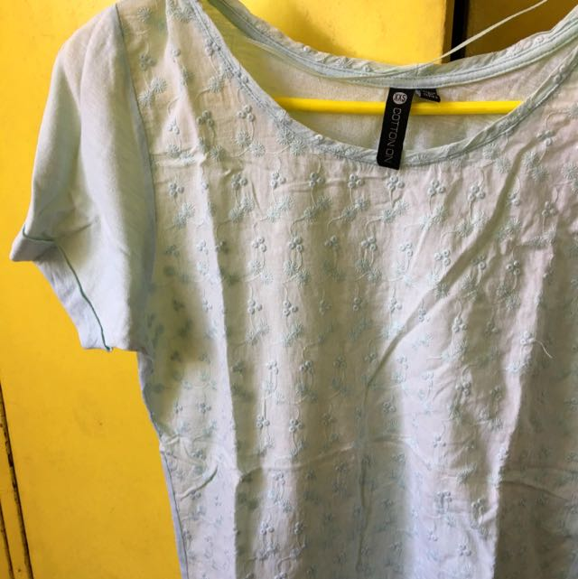 COTTON ON Casual Embroidered Top