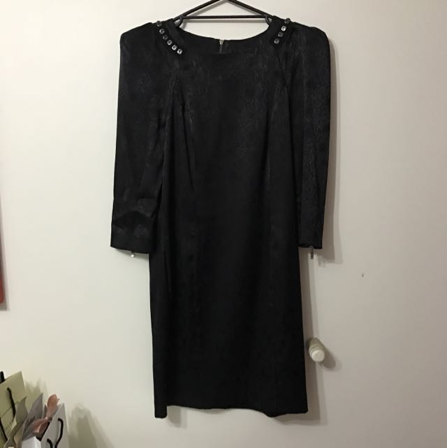 Cue Long Sleeve Dress Size 10