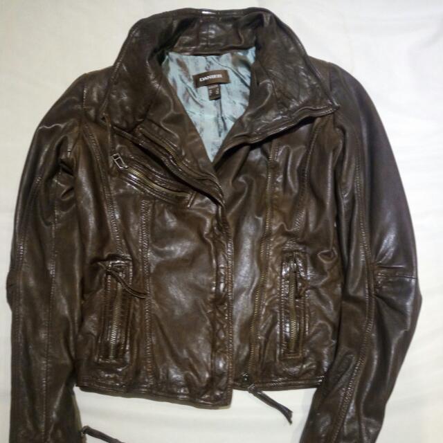 Danier Leather Jacket Size 3XS