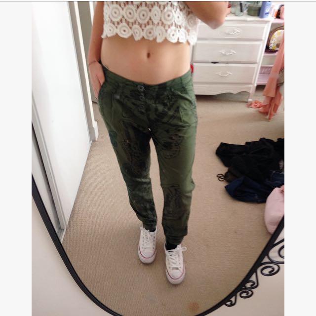 Desigual Hippie Pants
