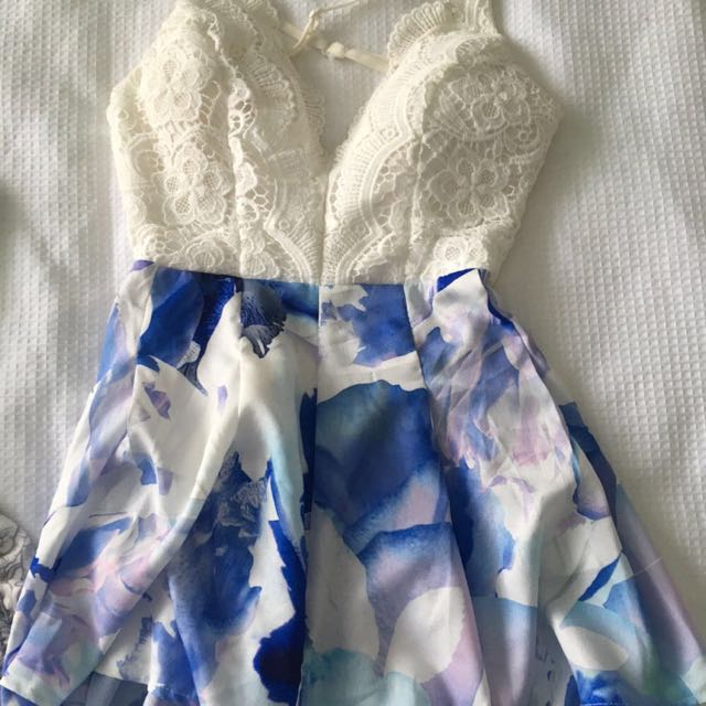 Backless Playsuit Size 6