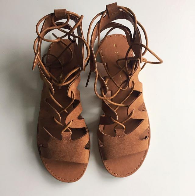 ed1f27285b77 Dorothy Perkins gladiator sandals