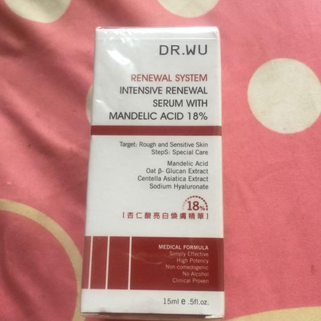 Dr Wu 18%杏仁酸亮白精華
