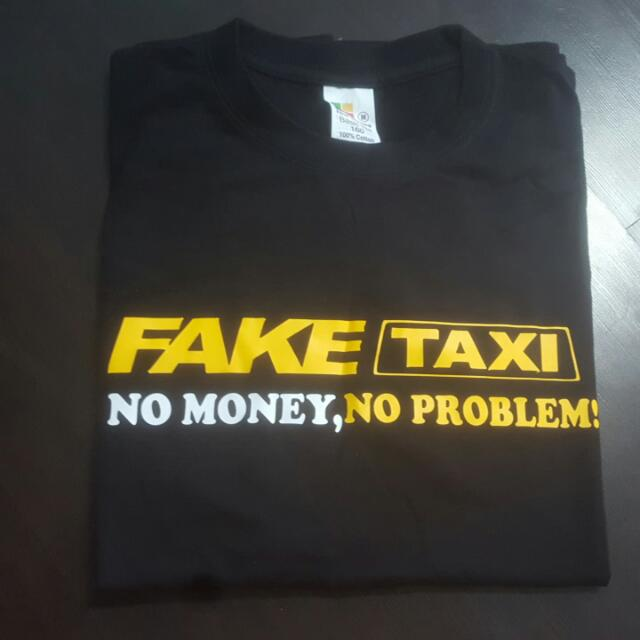 FAKE TAXI T-Shirt, Men's Fashion, Clothes on Carousell