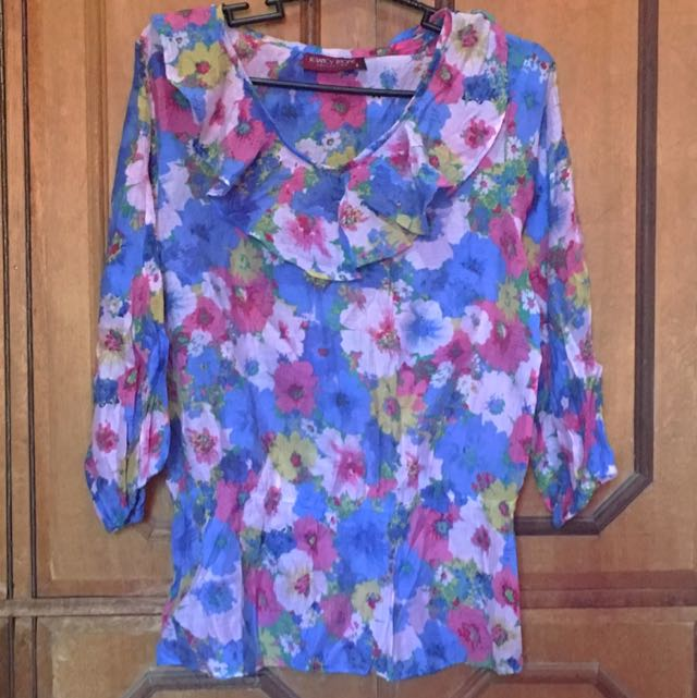 REPRICED!!! Floral Top