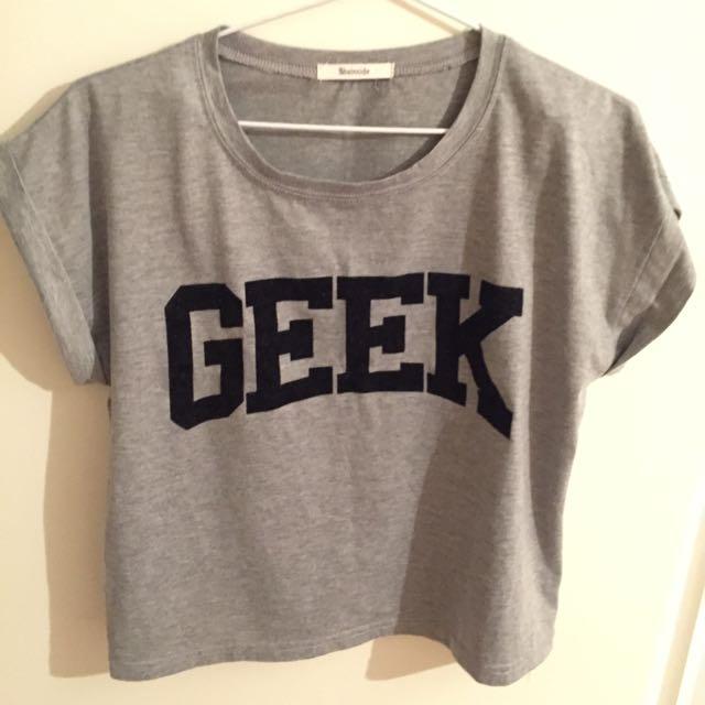 GEEK logo tshirt