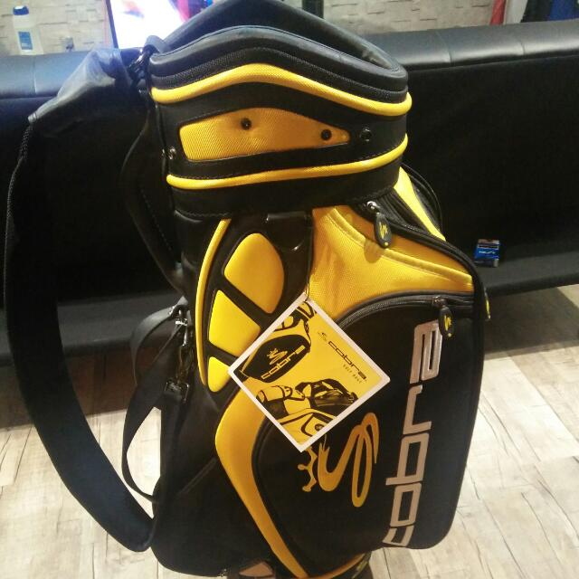 Golf Bag King Cobra Staff Sports Equipment On Carou