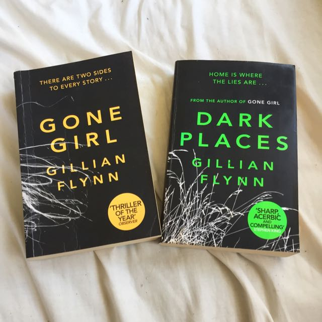 Gone Girl And Dark Places By Gillian Flynn