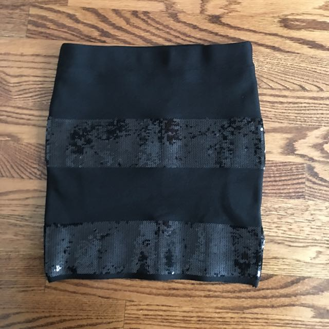 Guess Bandage Sequence Skirt