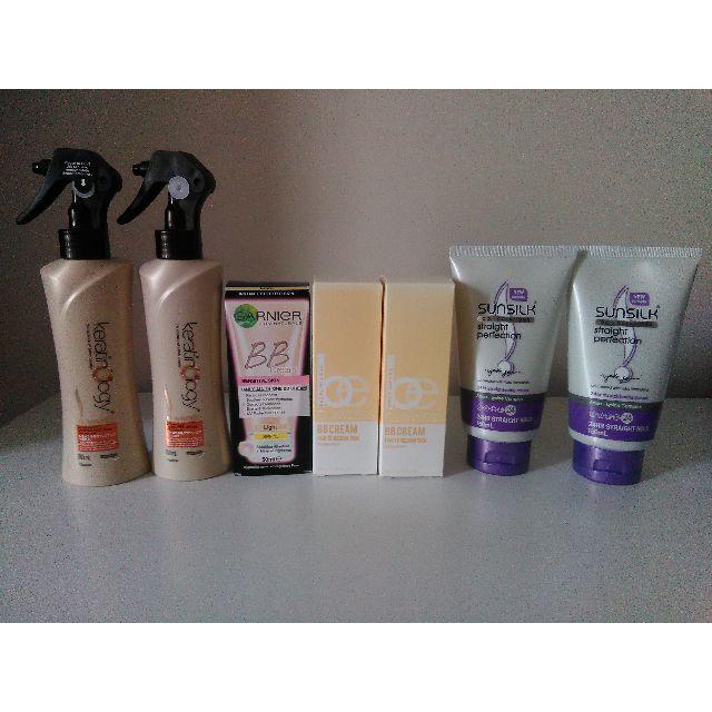 Hair Styling & BB Creams