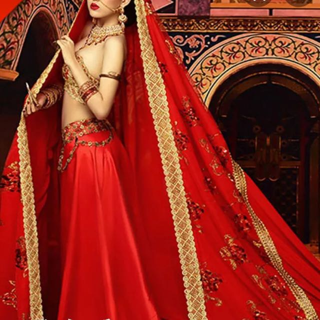 Indian Red Dress