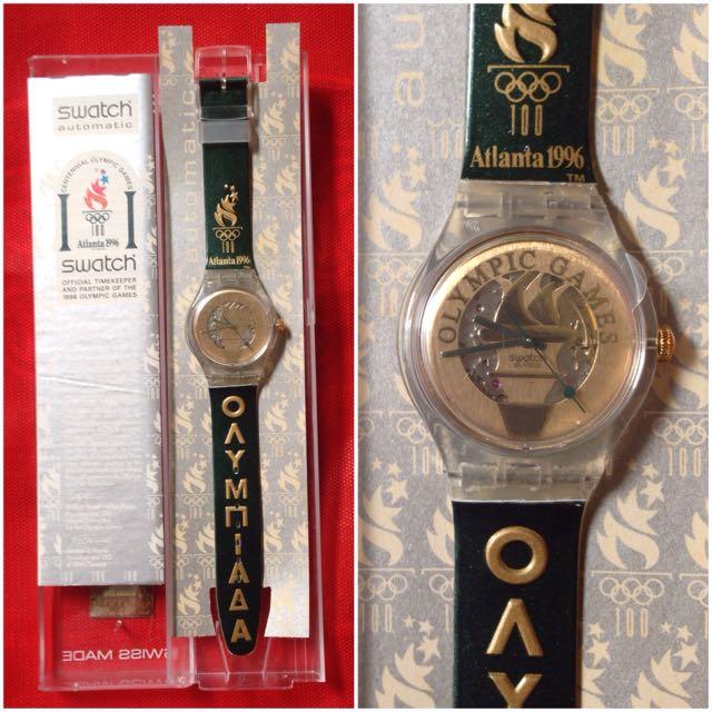 Jam Tangan Swatch Automatic Pyrsos-SAZ104