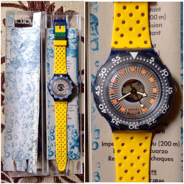 Jam Tangan Swatch Silver Trace-SDN107 Original
