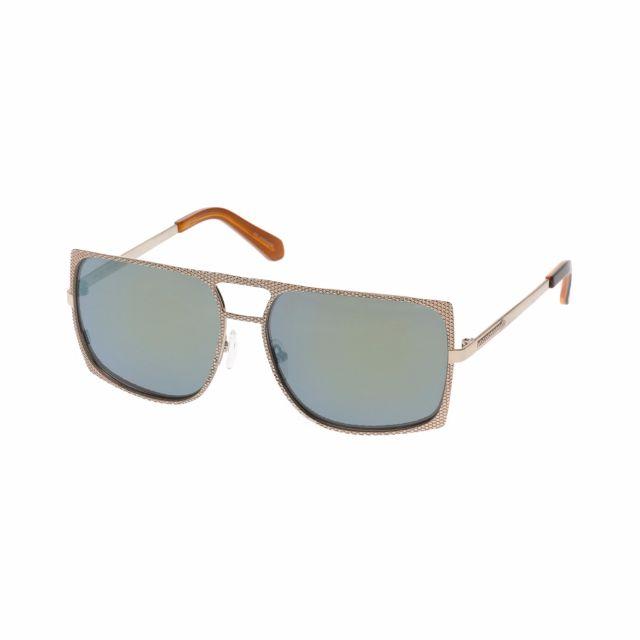 Karen Walker Dylan Unisex Aviator Sunglasses Authentic