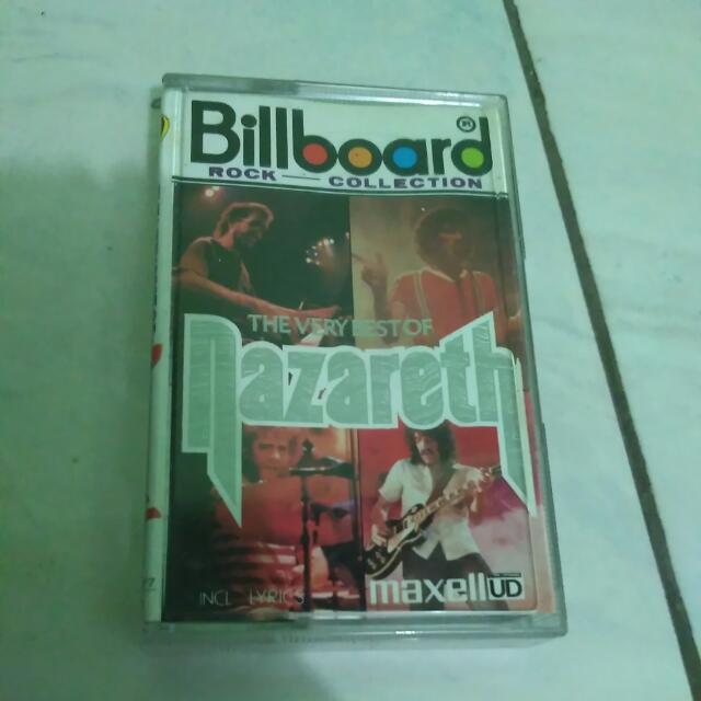 Kaset Tape The Very Best Of Nazareth