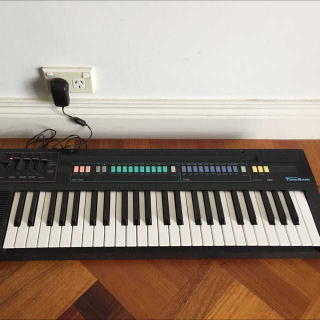 1980s Casio Casiotone CT-380 Keyboards