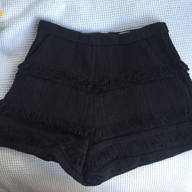 Kookai fringe Shorts