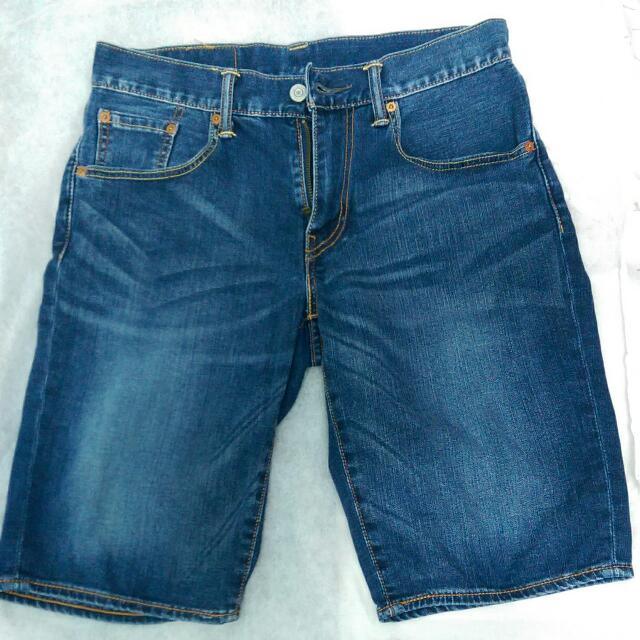 Levis 502 牛仔 短褲 W30