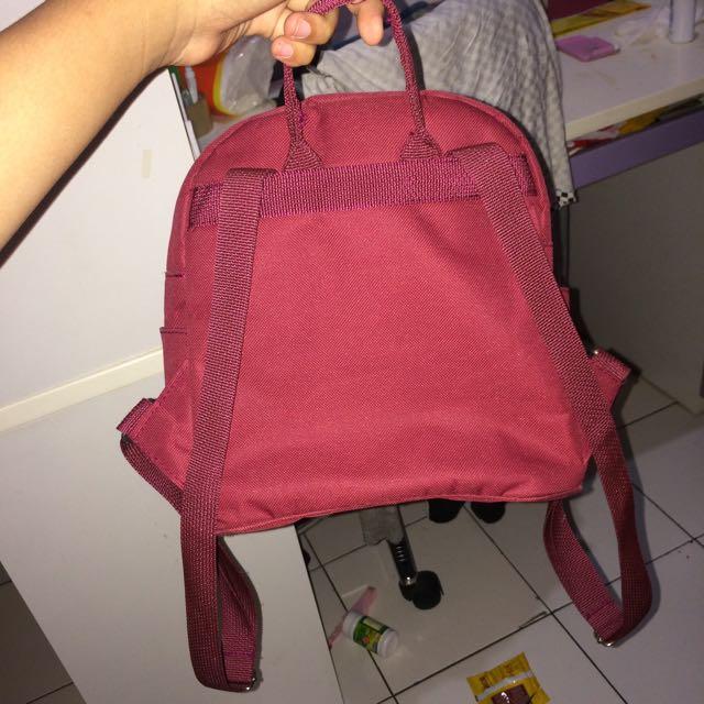 Maroon Mini Bagpack