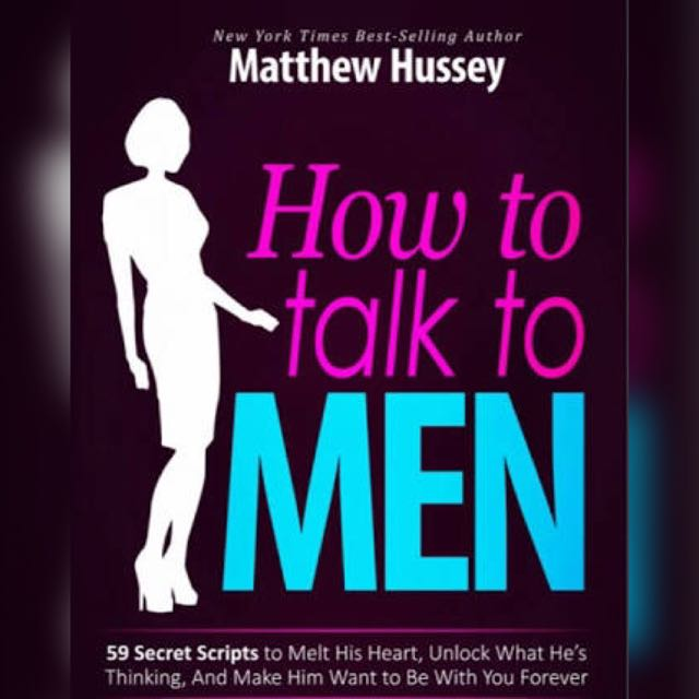"Matthew Hussy ""How To Talk To Men"""