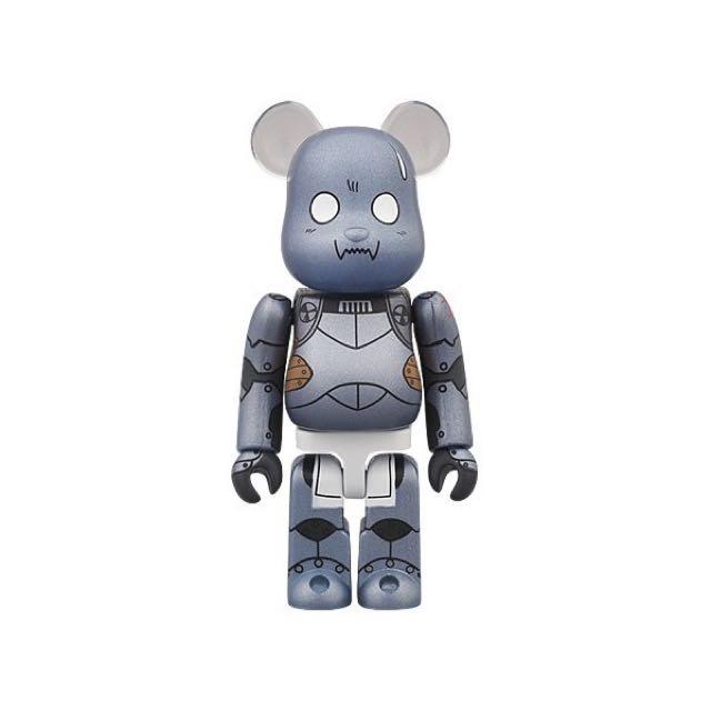 Medicom Bearbrick 100% Fullmetal Alchemist Alphonse Eric (Deformed Face Vrs.)