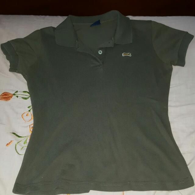 Military Green Polo Shirt2
