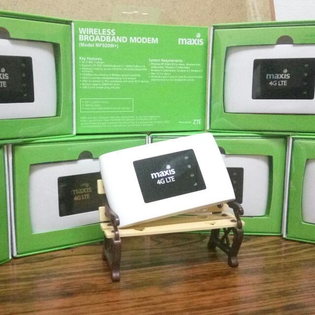 Modem ZTE MF920W Wifi Mifi Broadband Internet ( newset Complete set )