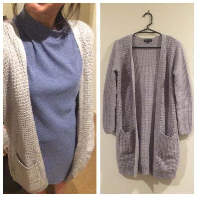 New Look Grey Cardigan