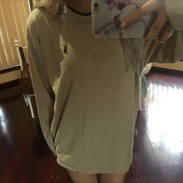 Nude Ralph Lauren Long Sleeve Top