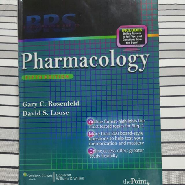 Pharmacology BRS (Hardbound)