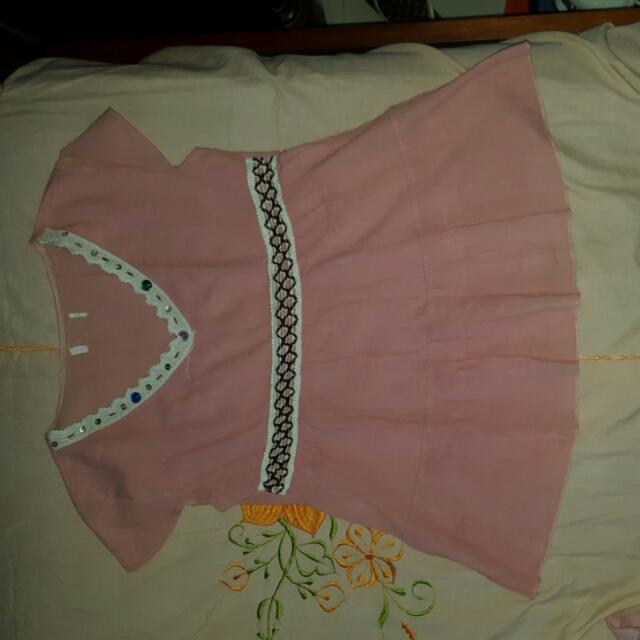 Pink Vintage Blouse