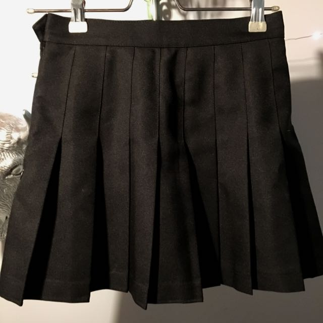 Pleated Skirt - American Apparel