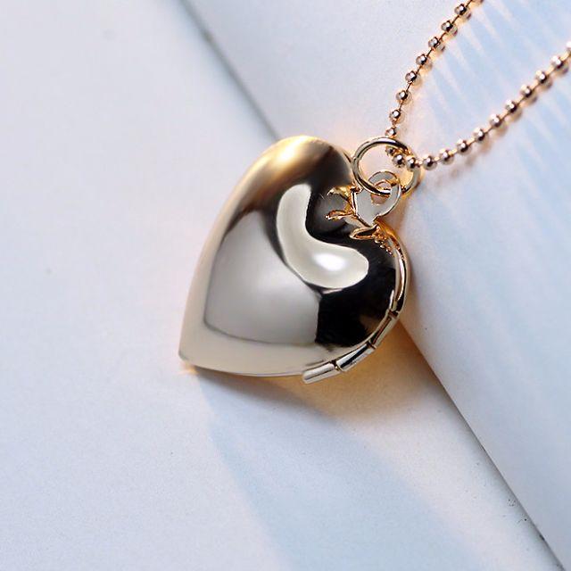 "[PreOrder] Floating Locket ""I love you"" Necklace"