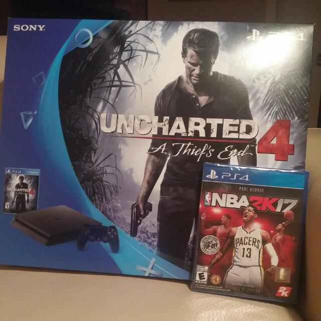 PS4 UNCHARTED + NBA2K17
