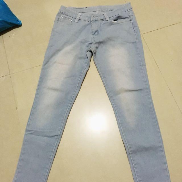 Skinny pants Light Wash