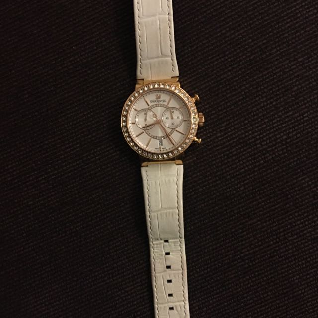 Swarovski White Gold Watch