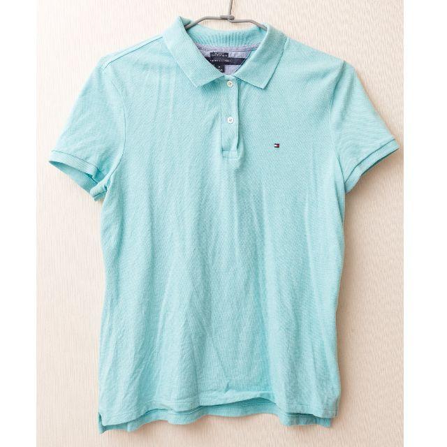 Tommy Hilfiger TH  水藍色POLO衫