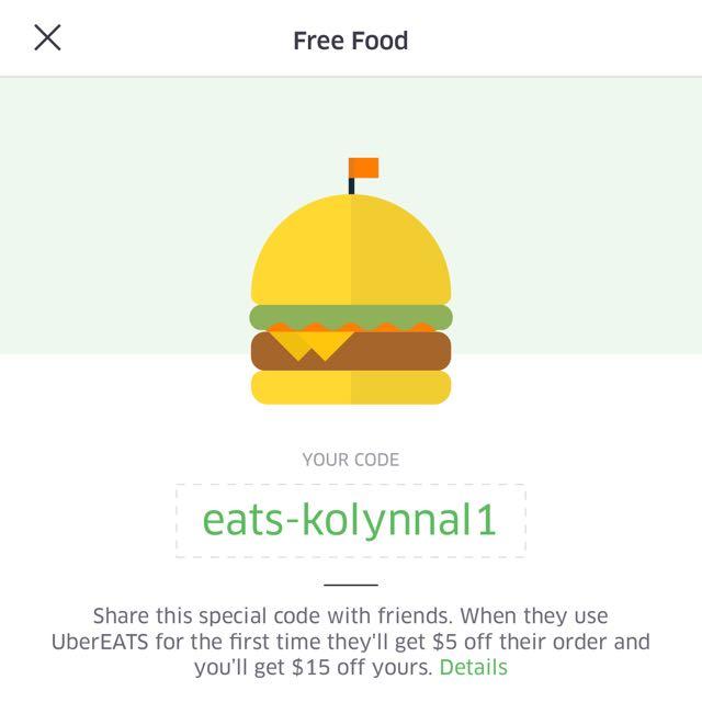Uber Eats Promo