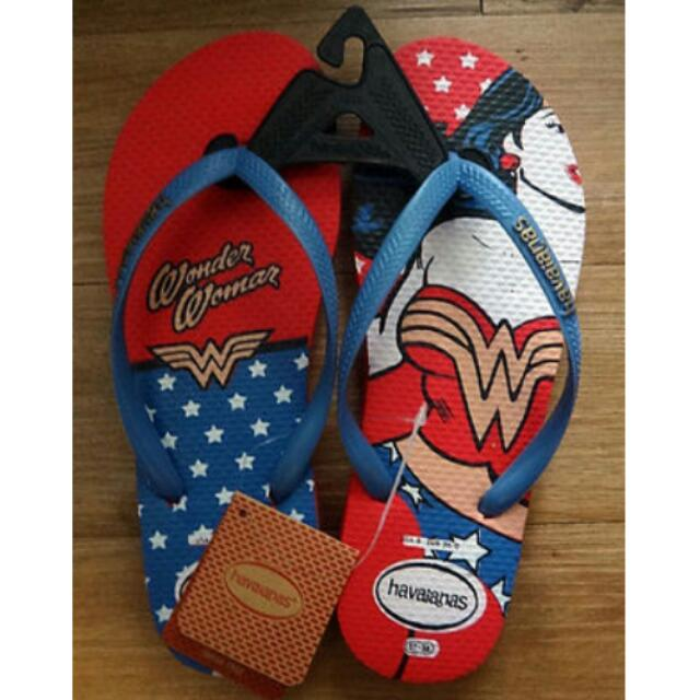 f9f01a57f3a Women s Havaianas Wonder Woman Slippers Flip Flops